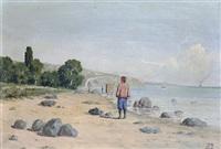 figure on the coast by halid naci