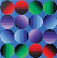 multihild by victor vasarely
