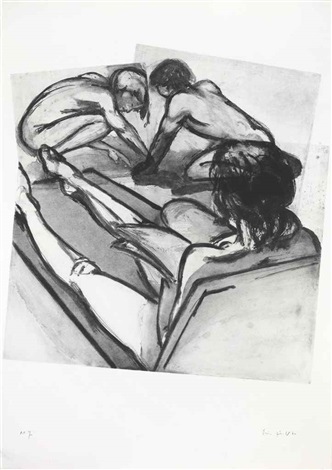 digging kids by eric fischl