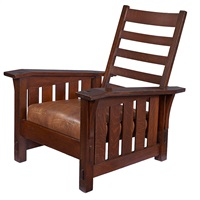 chair #369 by gustav stickley
