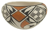 acoma jar by lucy martin lewis
