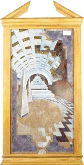 arched interior by melvyn rodda