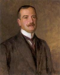 portrait des wiener industriellen raoul leon von wernburg by john quincy adams