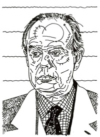 fréderic mitterrand by kiki picasso