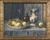 still life with quinces by gertrud staats