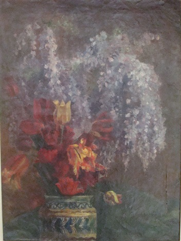 bouquet de fleurs by georgette agutte