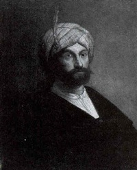 portrait of a man wearing a turban by jacob van spreeuwen