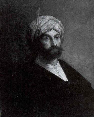 portrait of a man wearing a turban by jacob van spreeuwen