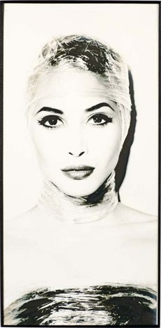 christie turlington by karl lagerfeld