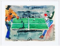 ping pong by malcolm morley