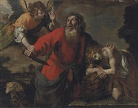 the sacrifice of isaac by giovanni andrea de ferrari