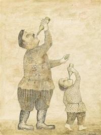 aus der figurenserie by vladimir lubarov