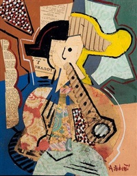 le musicien by antonio huberti