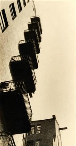 balkone aus der reihe das haus in der mjasnizkaja by alexander rodchenko