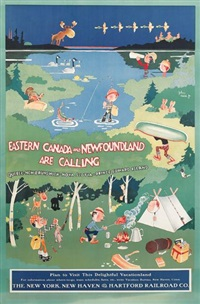 eastern canada and newfoundland are calling by john held