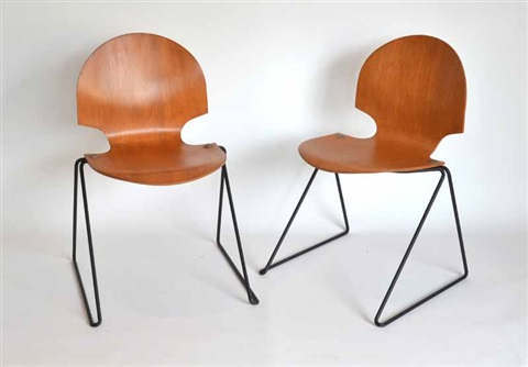 chairs (6 works) by arne jacobsen