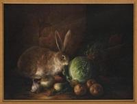 bodegón con conejo by armando ahuatzi