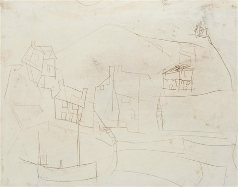 porthleven, cornwall by peter lanyon