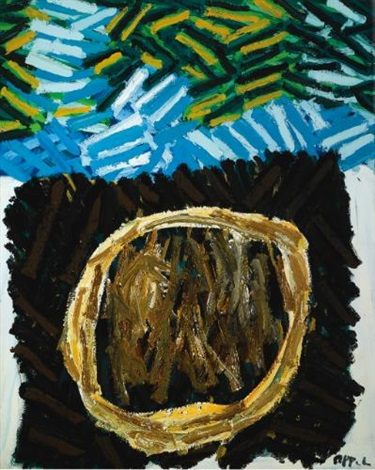 grass no 1 by karel appel