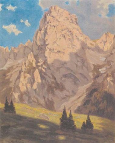 südtiroler gebirgsspitze by josef marchesani