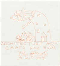 architecture and caats for ever by red grooms