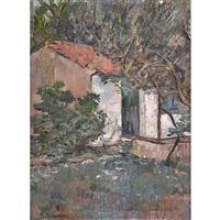 case tra gli alberi by piero marussig