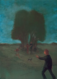 figurative composition by komet