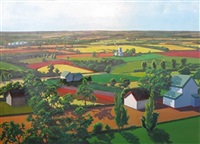 farm panorama by peter homitzky