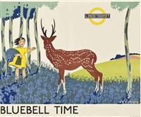 bluebell time by anna katrina zinkeisen