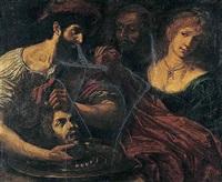 salome with the head of saint john the baptist by alessandro tiarini