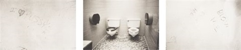 untitled bathroom graffiti 2 others 3 works by zoe leonard