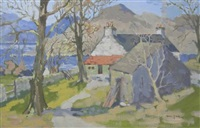 cottages by a loch by violet mcneish kay
