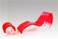 chaise longue pororoca by flavia de souza alvez