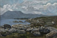 connemara coastal landscape by james le jeune