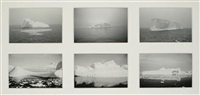 antartica (set of 6, framed together) by ray mortenson