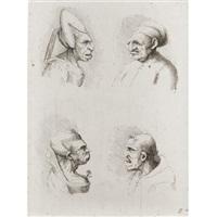 varia figura monstrosa (+ 9 others; 10 works) by jacob von sandrart