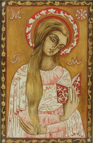 mother mary by natalia sergeevna goncharova