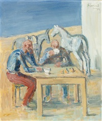don quichotte et sancho by wilhelm gimmi
