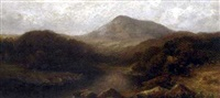 stream from the hills (+ tranquil stream, evening; pair) by cyrus booth