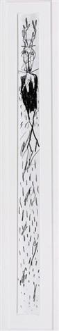sin título venado negro sin título desnudos con amarillo y negro 2 works by alejandro santiago