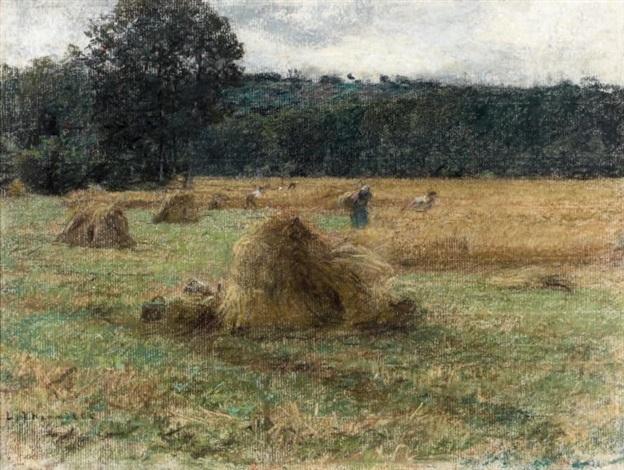 le fauchage des blés by léon augustin lhermitte
