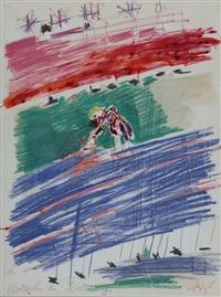la bataille de fontenoy by bernard lorjou