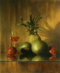 fruit and wine by moni leibovitch