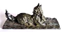 loup hurlant by santiago sierra