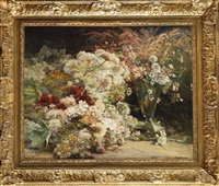 gerbe de fleurs by henri arthur bonnefoy