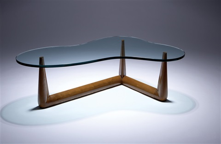 Biomorphic coffee table by TH RobsjohnGibbings on artnet