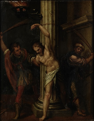the flagellation of christ by paolo farinati