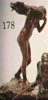 femme au voile by v. bentivegna