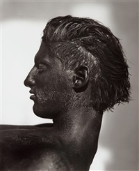 tony with blackface - profile by herb ritts