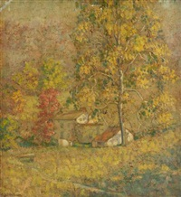 autumn color by samuel george phillips